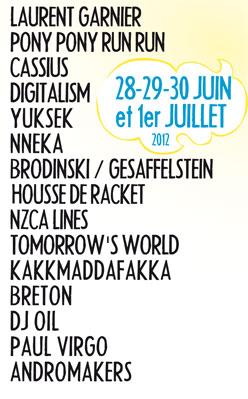 Programmation 2012